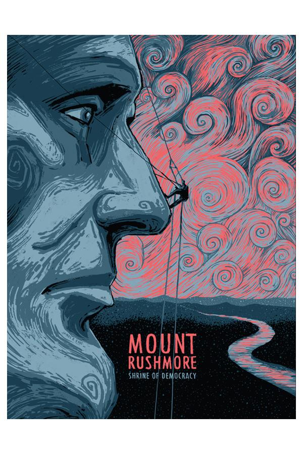 Mount Rushmore Art Print 0