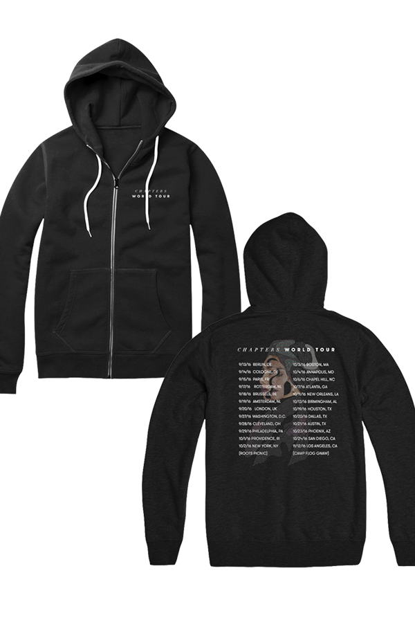 World Tour Hoodie (Black)