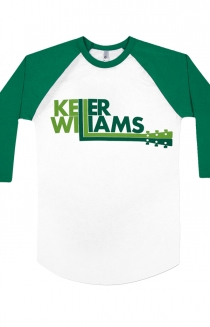 Logo Baseball Raglan (White/Green)