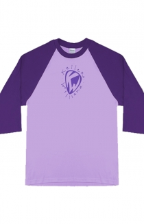 Pick Ladies Baseball Tee (Purple)