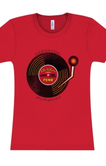 Funk More Than A Little Ladies Tee (Red)