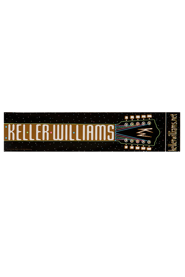 Guitar logo bumper sticker accessory keller williams accessories online store on district lines