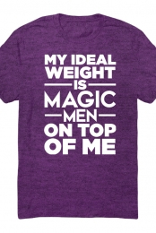 Ideal Unisex Tee (Heather Purple)