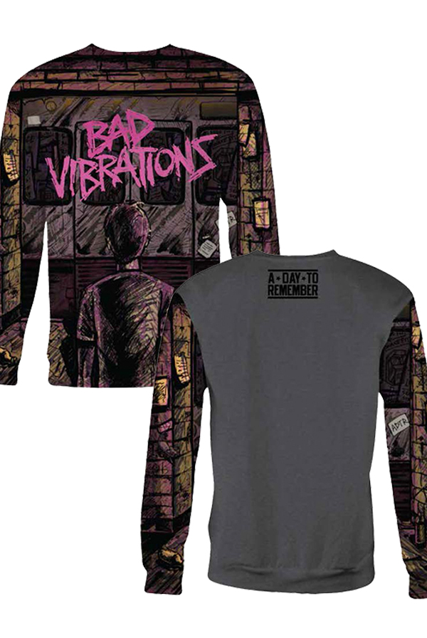 Bad Vibrations Sublimated Crewneck