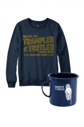 Authentic Sweatshirt + Owl Camping Mug