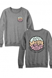 Takeover Logo Crew Sweater (Grey)