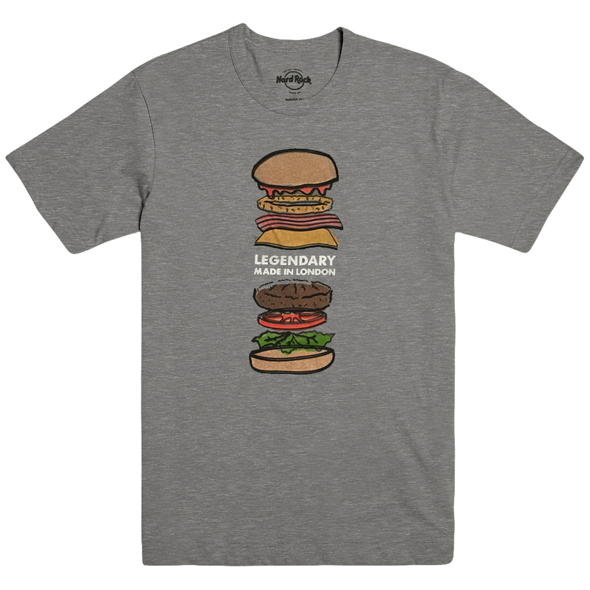 Mens Legendary Burger Tee Heather Grey 0