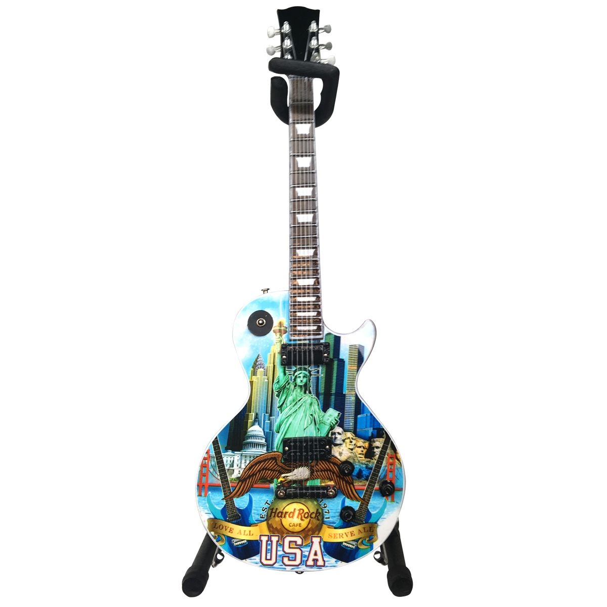 Mini City Guitar with Stand 0