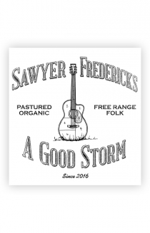 Free Range Folk, A Good Storm Design Sticker