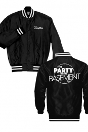 The Party In The Basement Tour Satin Jacket