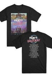 The Party In The Basement Tour Tee