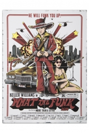 Signed What The Funk 2014 Tour Poster