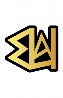 UA Gold Enamel Pin