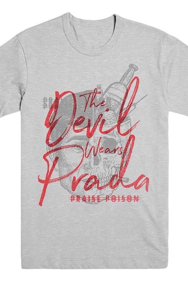 Praise Poison Tee (Heather Grey)