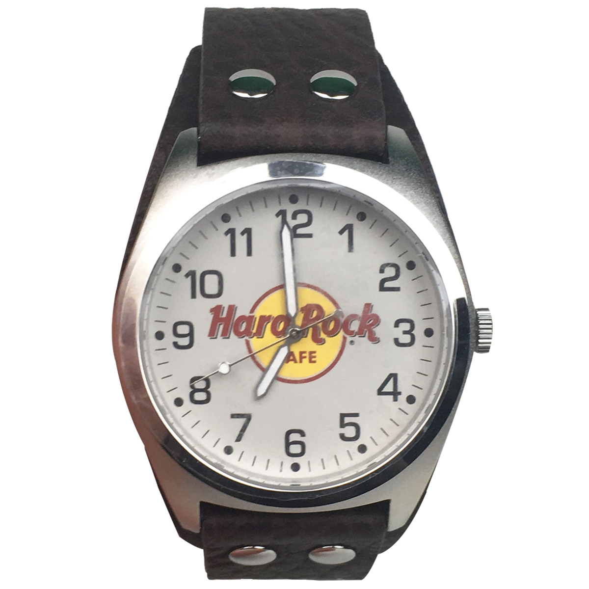 Classic Logo Leather Watch Brown 0