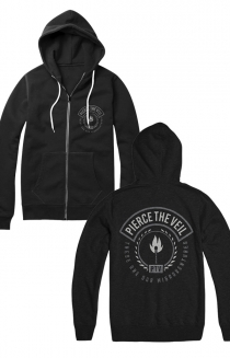Matches Zip Up (Black)