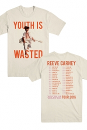 Youth Is Wasted - 2016 Tour Shirt (Natural)