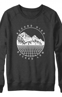 Record High Record Low Crewneck