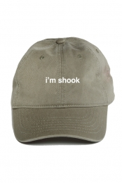 i'm shook hat (olive)