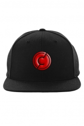 Circle Logo Puff Embroidery Snapback