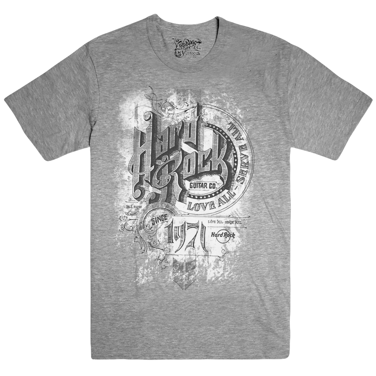 Mens Circle Sketch Tee Grey 0