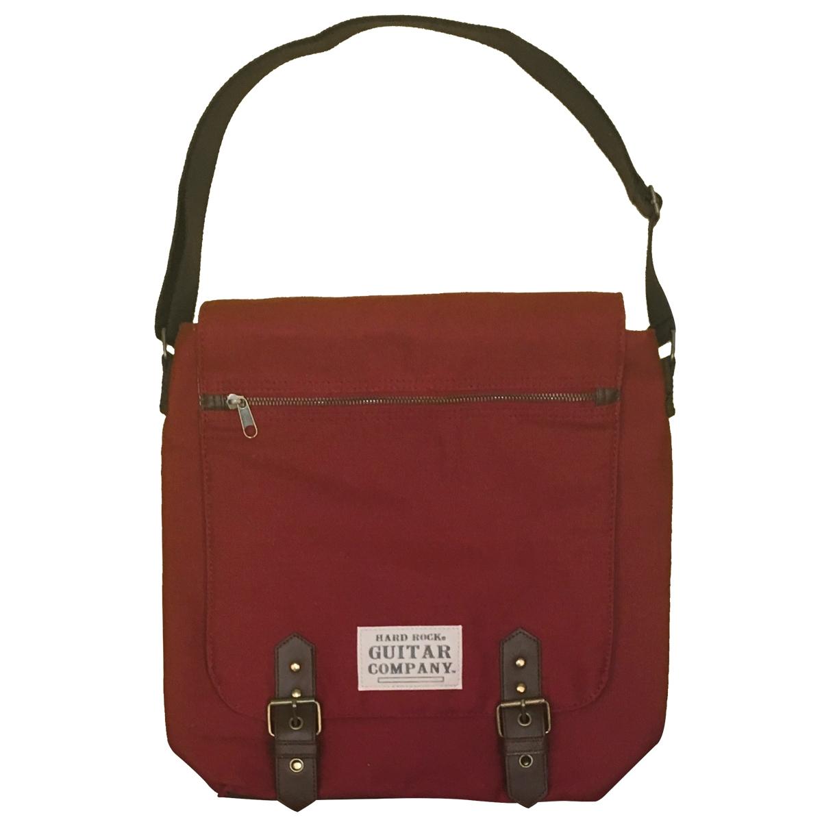 Guitar Company Messenger Bag Burgundy 0