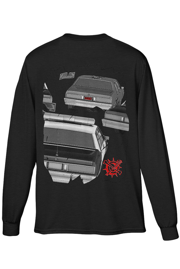The Getaway Long Sleeve (Black)