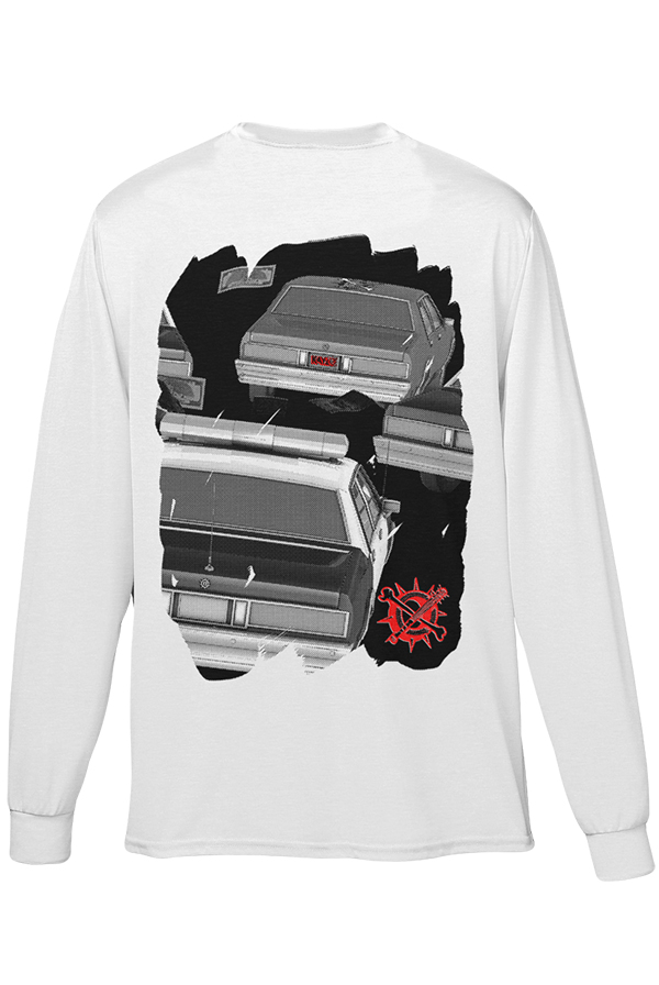 The Getaway Long Sleeve (White)