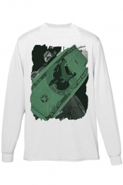 The Bankroll Long Sleeve (White)