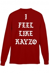 I Feel Like KAYZO Long Sleeve (Red)