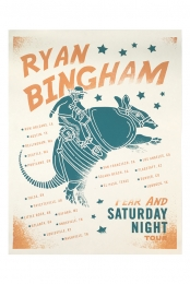 Fear & Saturday Night Tour Poster