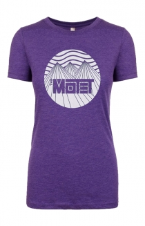Women's Mountain Tee (Purple)