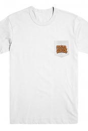 Focus Achieve Motivate Pocket Tee (White)