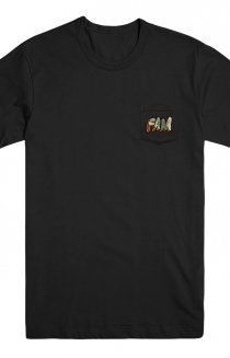 FAM Pocket Tee (Black)