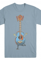 Karla Dancing Guitar Tee (Light Blue)