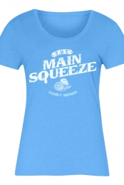 Freshly Squozen Girls Tee (Teal)