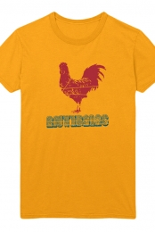 Rooster Tee (Gold)