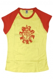 Womens Ganesh Tee (Yellow)