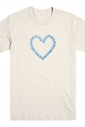 Hearts Pill Tee (Cream)
