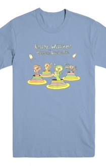 Keller with Moseley, Droll, and Sipe Tee (Blue)