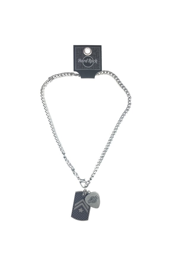 rock center necklace accessories militarypendantpick shop pick pendant square military
