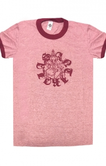 Ganesh Ringer Tee (Heather Red)