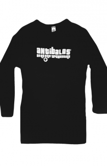 Womens Logo Long Sleeve (Black)