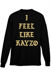 I Feel Like KAYZO Long Sleeve (Black)