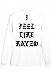 I Feel Like KAYZO Long Sleeve (White)