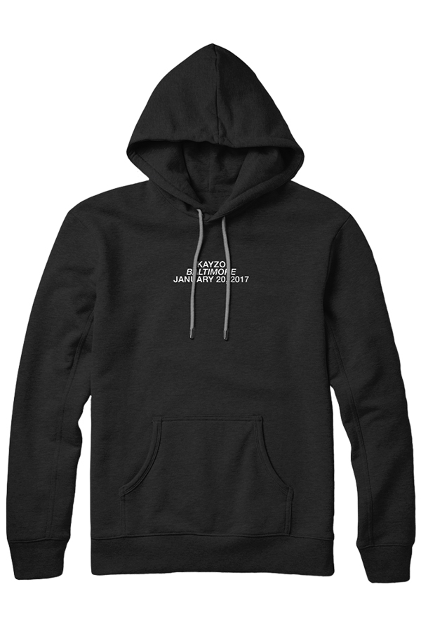 Baltimore Jan 20th Hoodie (Black)
