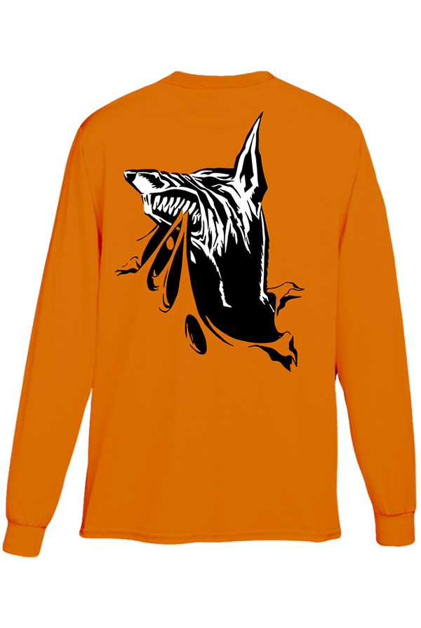 Welcome Long Sleeve (Safety Orange)