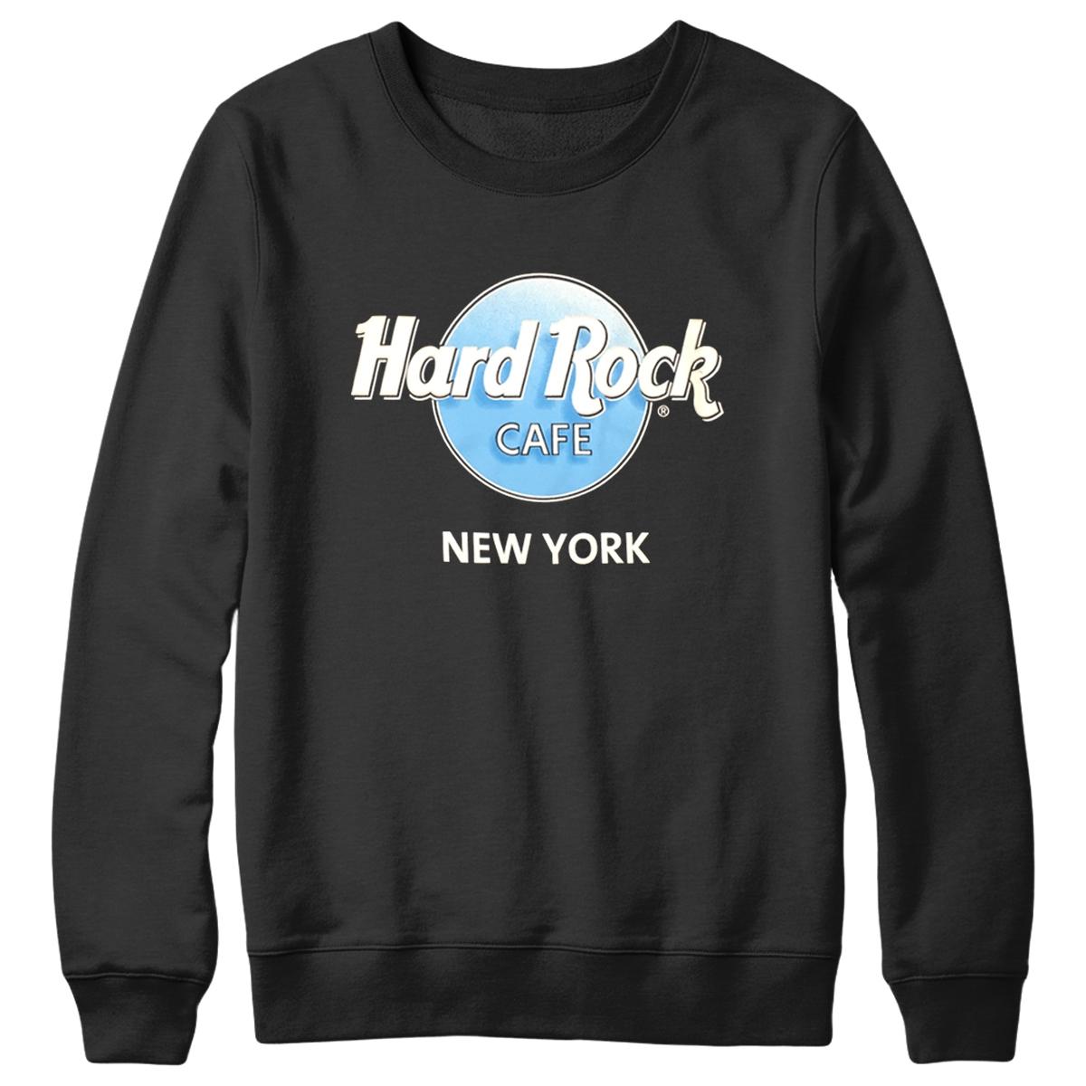 Retro 3D Logo Fleece Black New York 0