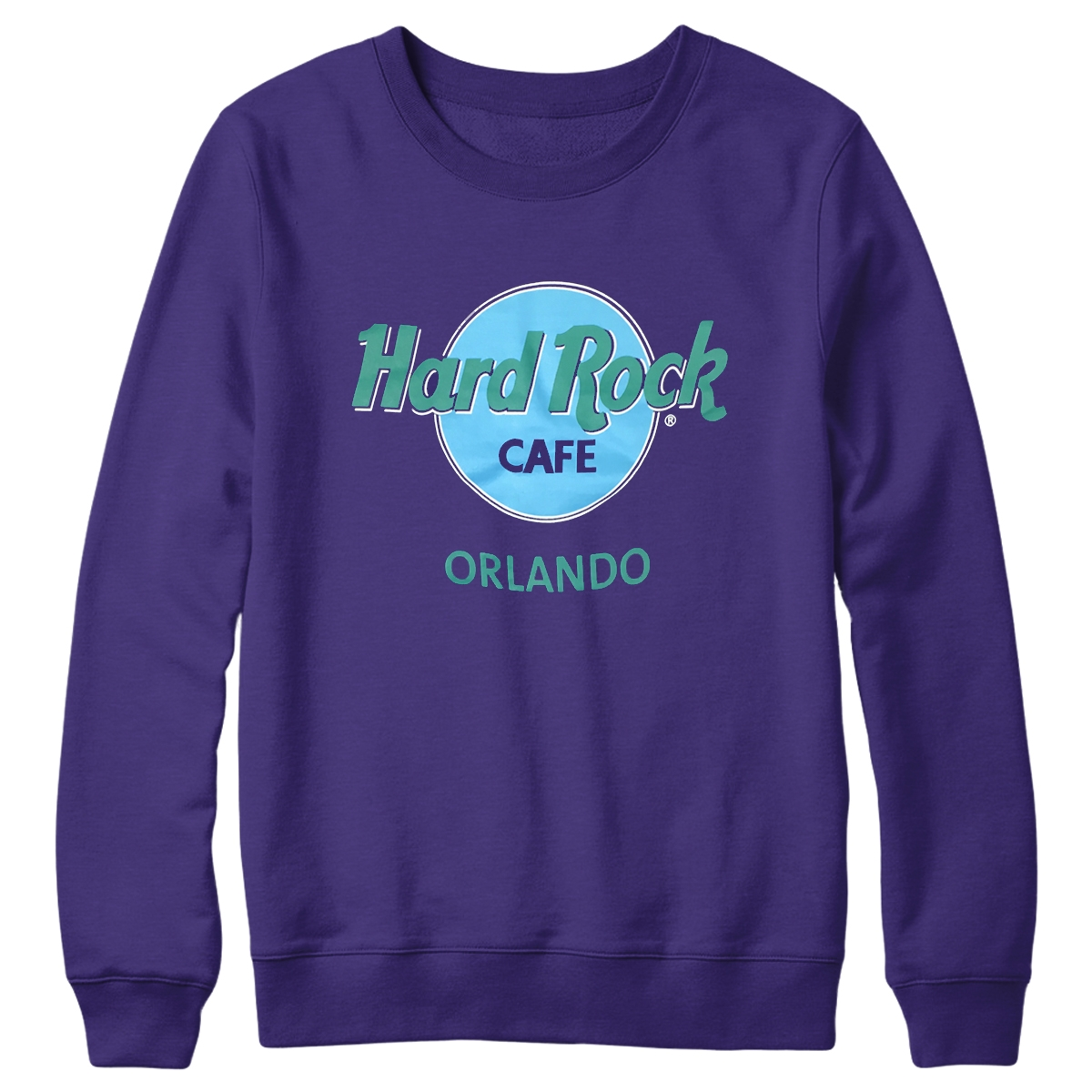 Retro Logo Fleece Purple Orlando 0