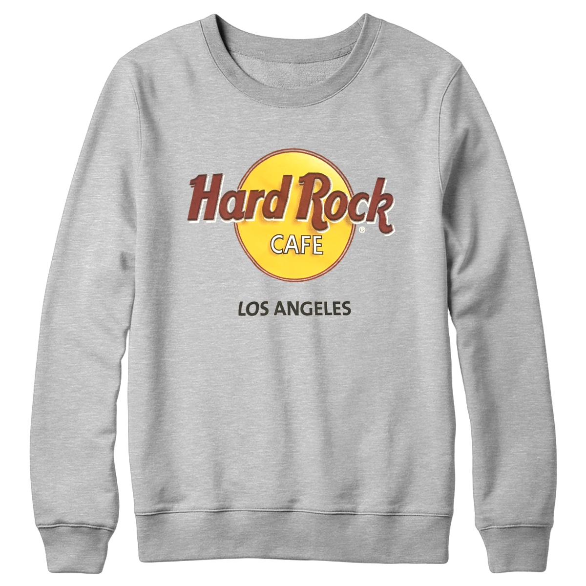 Retro 3D Classic Logo Fleece Grey Los Angeles 0